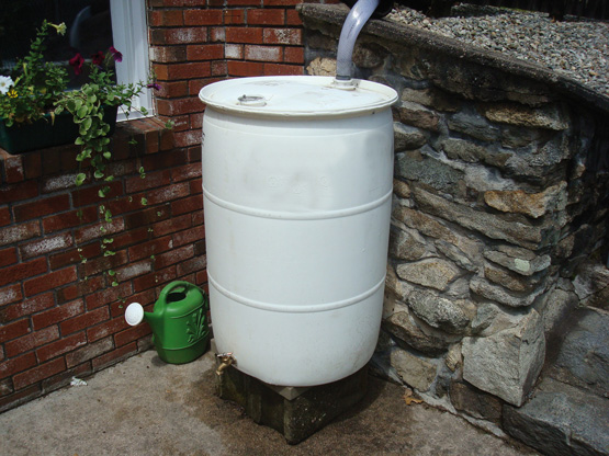 Aprovechar el agua de lluvia el correo del sol - Deposito de agua de lluvia ...