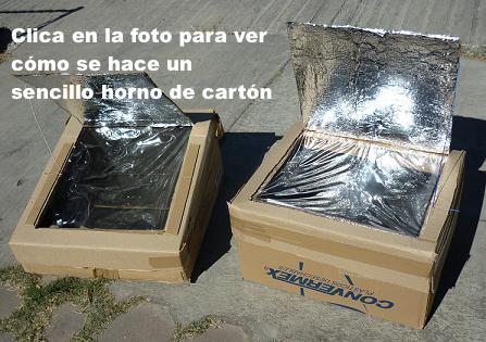 Hornos solares con cajas de cart n el correo del sol - Cuanto puede costar tapizar un sofa ...