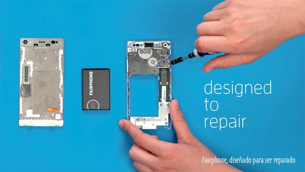 Fairphone, diseñado para ser reparado
