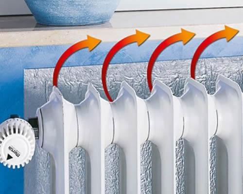 C mo ahorrar en calefacci n con paneles reflectantes el - Tubo hierro cuadrado leroy merlin ...