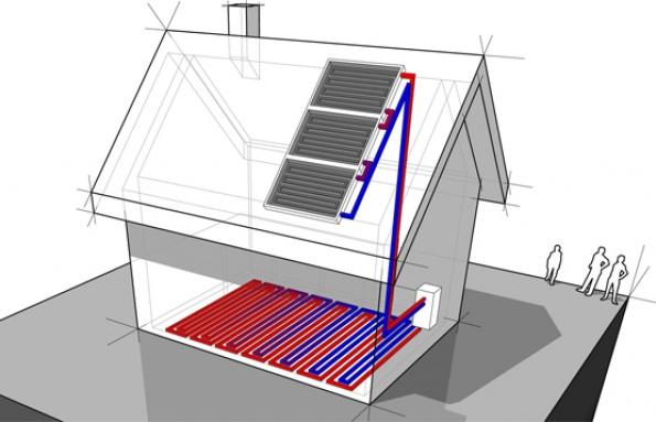 Calefacci n ecol gica y sana el correo del sol - Calefaccion casa ...