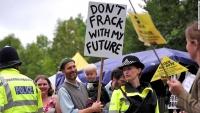 """16 meses de cárcel por protestar contra el """"fracking"""" en Gran Bretaña"""