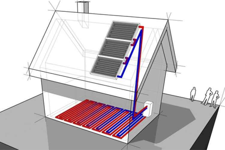 Calefacci n ecol gica y sana el correo del sol - Sistemas de calefaccion para viviendas unifamiliares ...