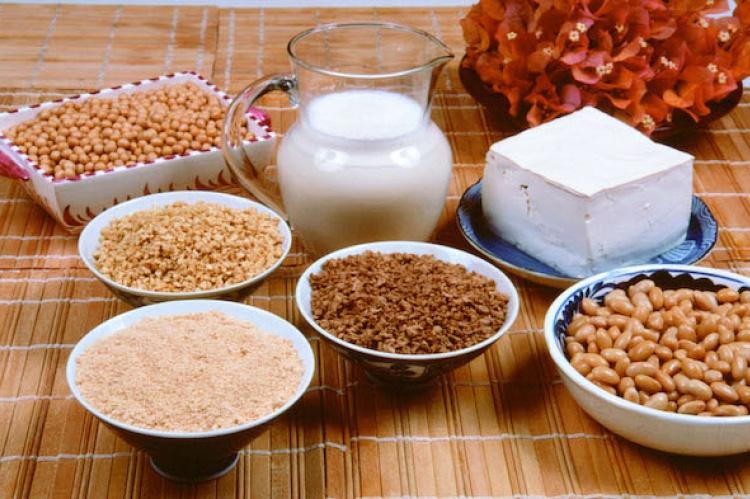 Ricos alimentos proteinas vegetarianos en