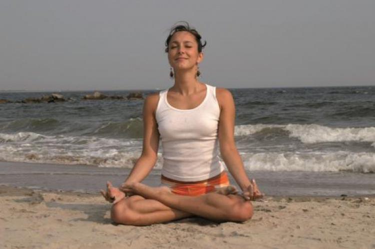Sentirse ligero durante la meditación