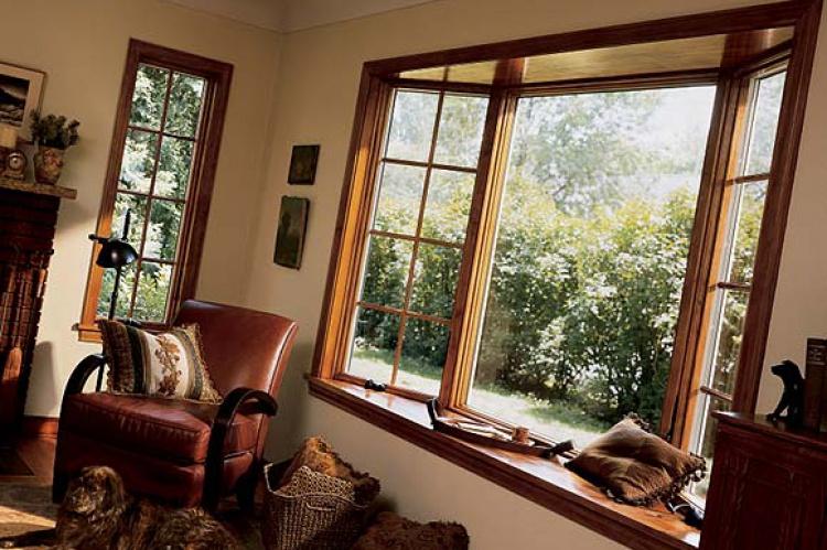 Las puertas y ventanas de una casa ecol gica el correo for Ventanas en madera para interiores